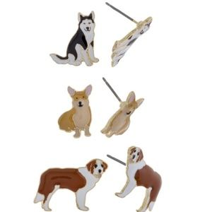 Jewelry - Dog Earring Set